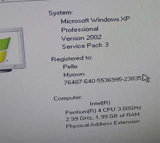 Windows XP SP3 , prestanda på datorn