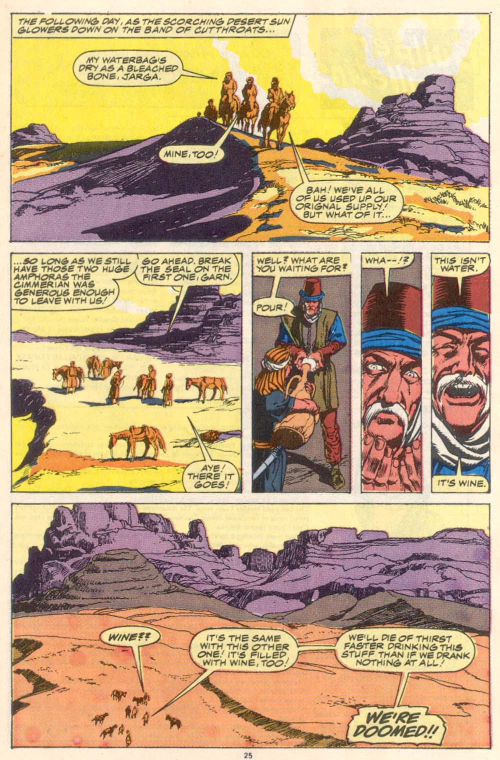 Conan the Barbarian (1970) Issue #223 #235 - English 20