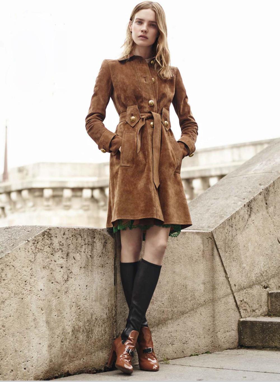 Beyond the Fringe / Vogue US December 2014 (photography: Karim Sadli, styling: Grace Coddington, model: Natalia Vodianova)