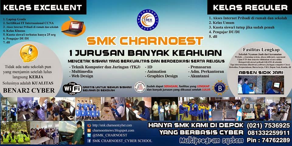 Dalam rangka pengenalan sekolah SMK Cakra Nusantara, SMK Charnoest Menggelar Open House