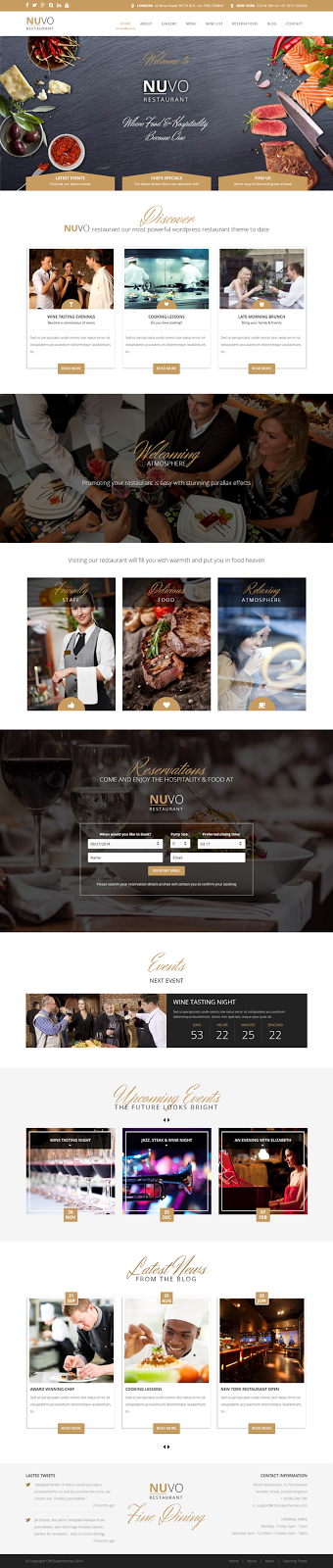 Premium Bistro WordPress Theme