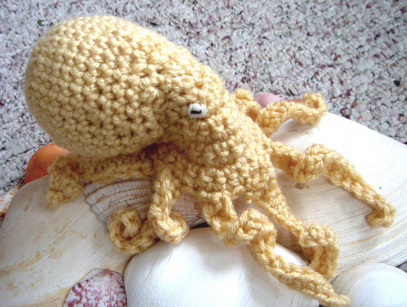 when i first set out to crochet a realistic octopus over five years ...