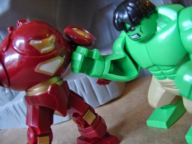 hulkbuster iron man fits right in with bootlego hulk bootleg iron man 2 starring