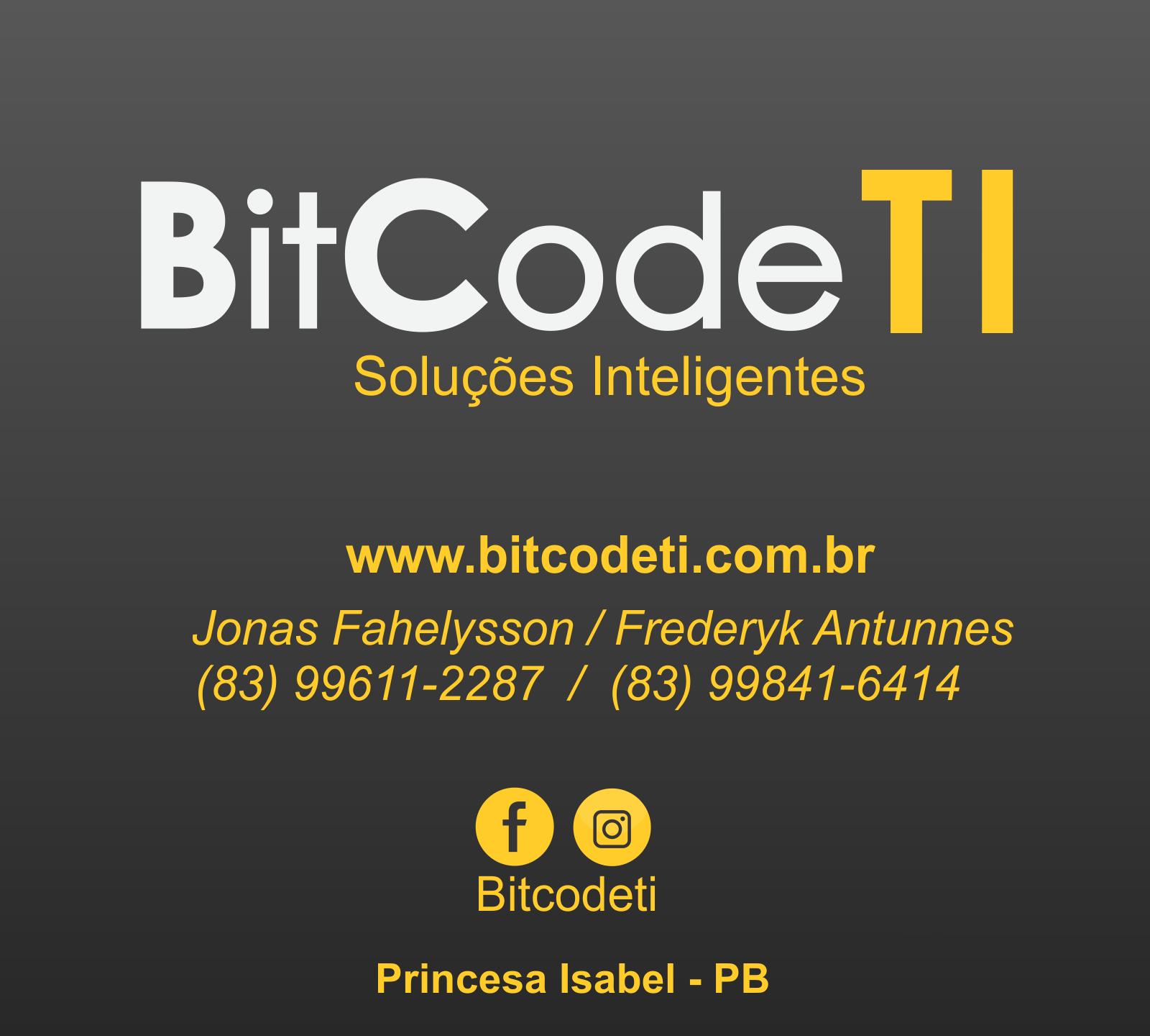 BitCodeTI - Soluções Inteligentes