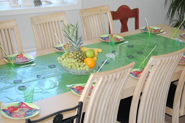 Bord til turtles party