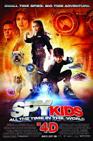 Download Spy Kids All the Time in the World 3D (2011) BluRay 720p Half SBS 600MB Ganool