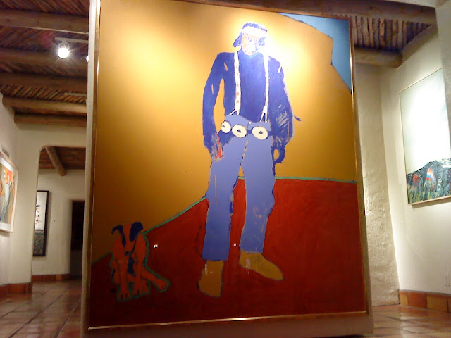 Fritz Scholder orange dog