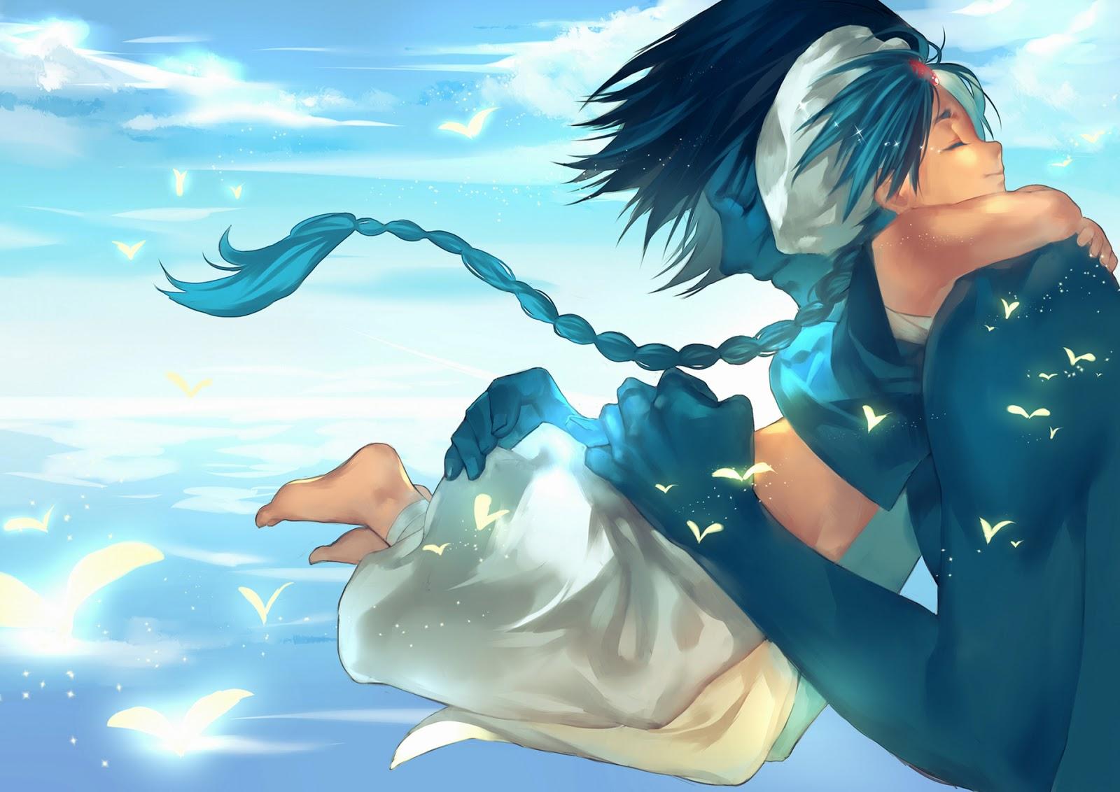 Aladdin ugo hug boy kid magi the labyrinth of magic anime hd wallpaper