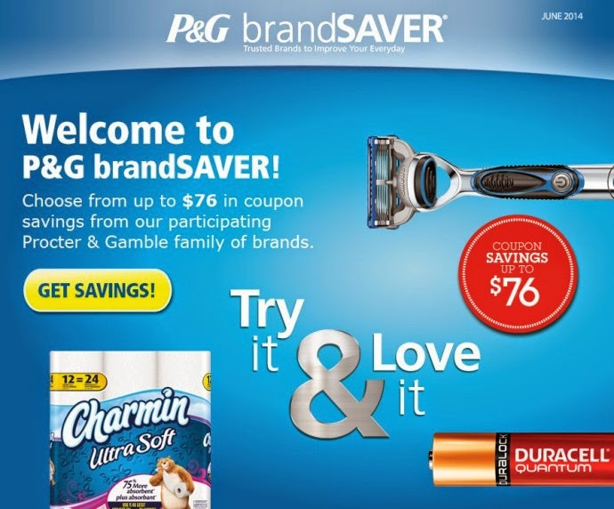 PROCTER GAMBLE COUPONS CANADA