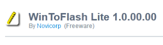 WinToFlash Lite 1.0.00.00 For Windows