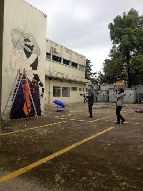 Street Art Mural By Mexican painter Curiot For The proyecto Frágil On The Streets Of Mexico. 5