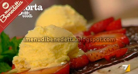 Torta Pitta con Piadina, Nutella e Gelato di Benedetta Parodi