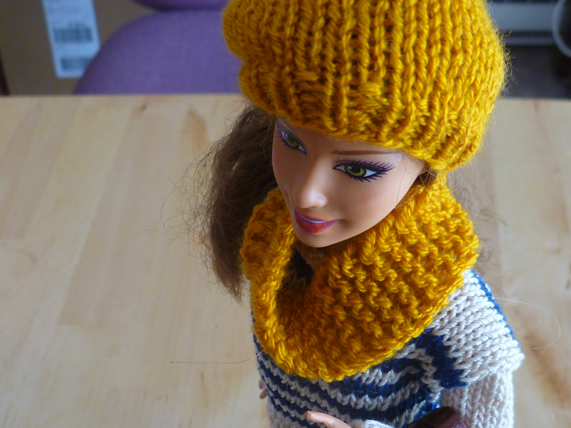 Niki Jin Crafts: Niki Knits: Doll Accessories (free pattern)