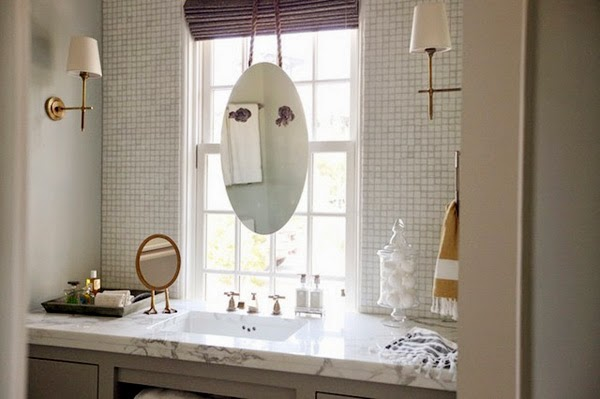decorar lavabos redondos : decorar lavabos redondos:Fregando los platos (o lavándote los dientes) con vistas · Doing the