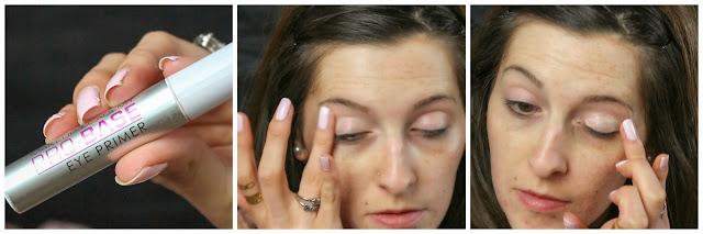 primer makeup mua make your eye shadow last laurajanestyle