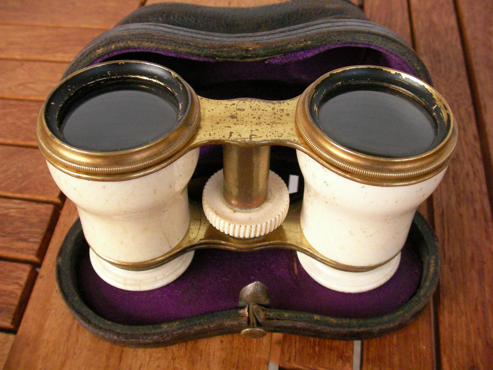 objets de collection art deco tableaux jumelles de theatre ivoire xix. Black Bedroom Furniture Sets. Home Design Ideas
