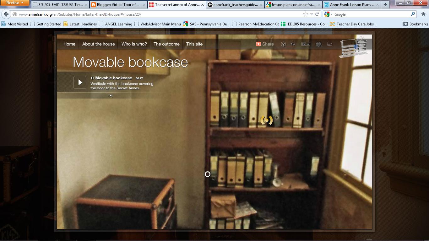 & Virtual Tour of Anne Frank\u0027s House