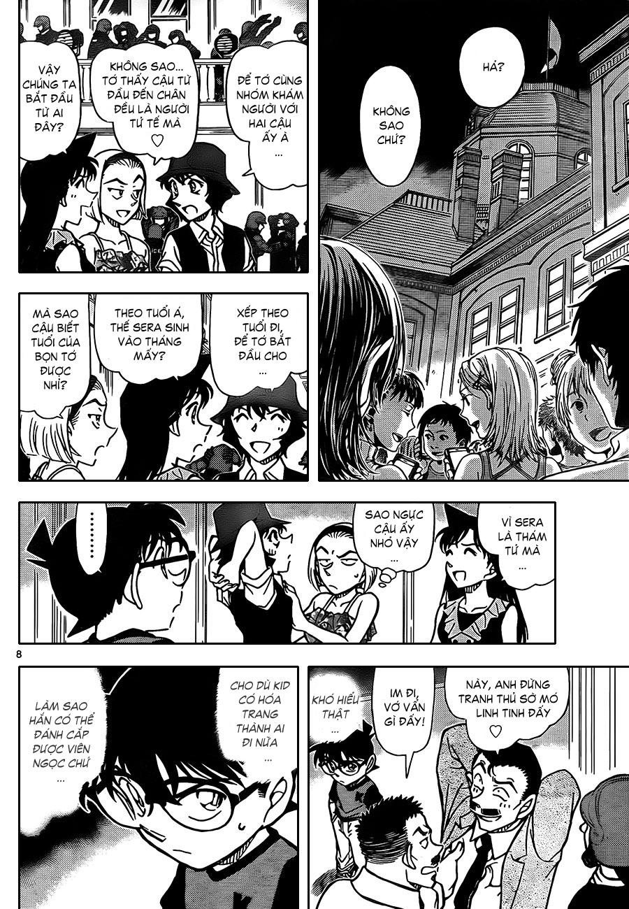 Detective Conan - Thám Tử Lừng Danh Conan chap 829 page 10 - IZTruyenTranh.com
