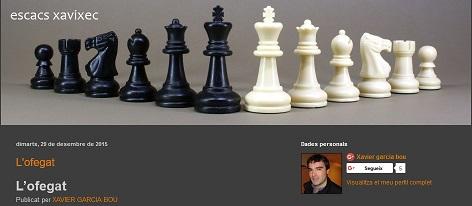 Blog amic- Escacs
