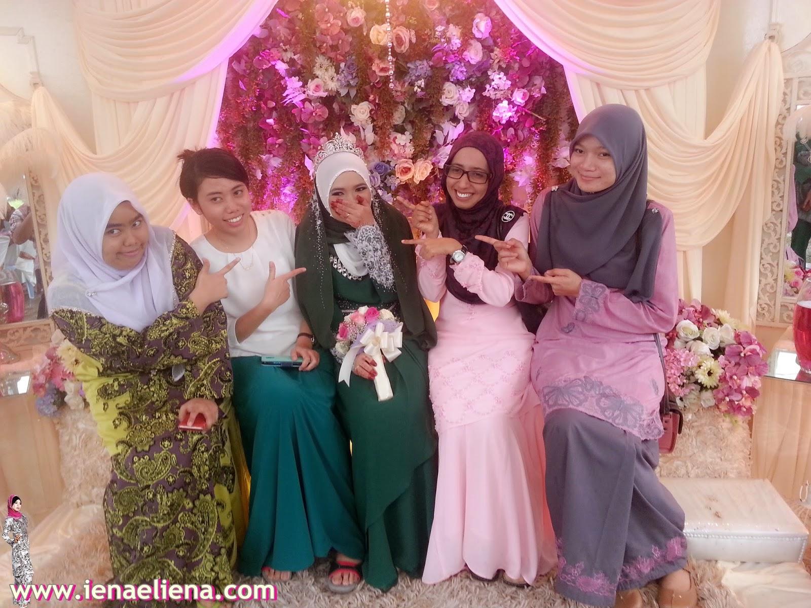 Majlis perkahwinan Azra Wahab Dan Akram