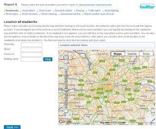 mappa dei problemi stradali di londra