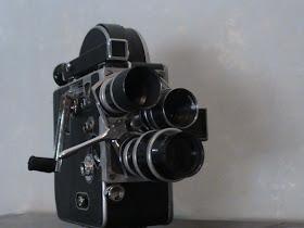 Filmadora de 16mm Bolex Paillard con torreta de 3 lentes. (Ver donaciones más abajo)