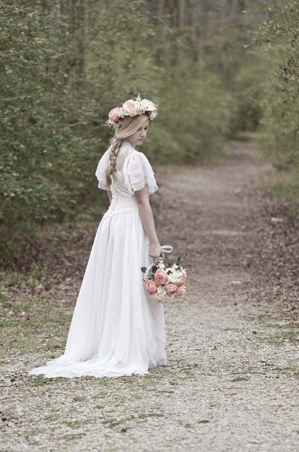 Modern Country Chic Wedding Dress : Dress rock princess boho bohemian chic bride bridal gown dresses