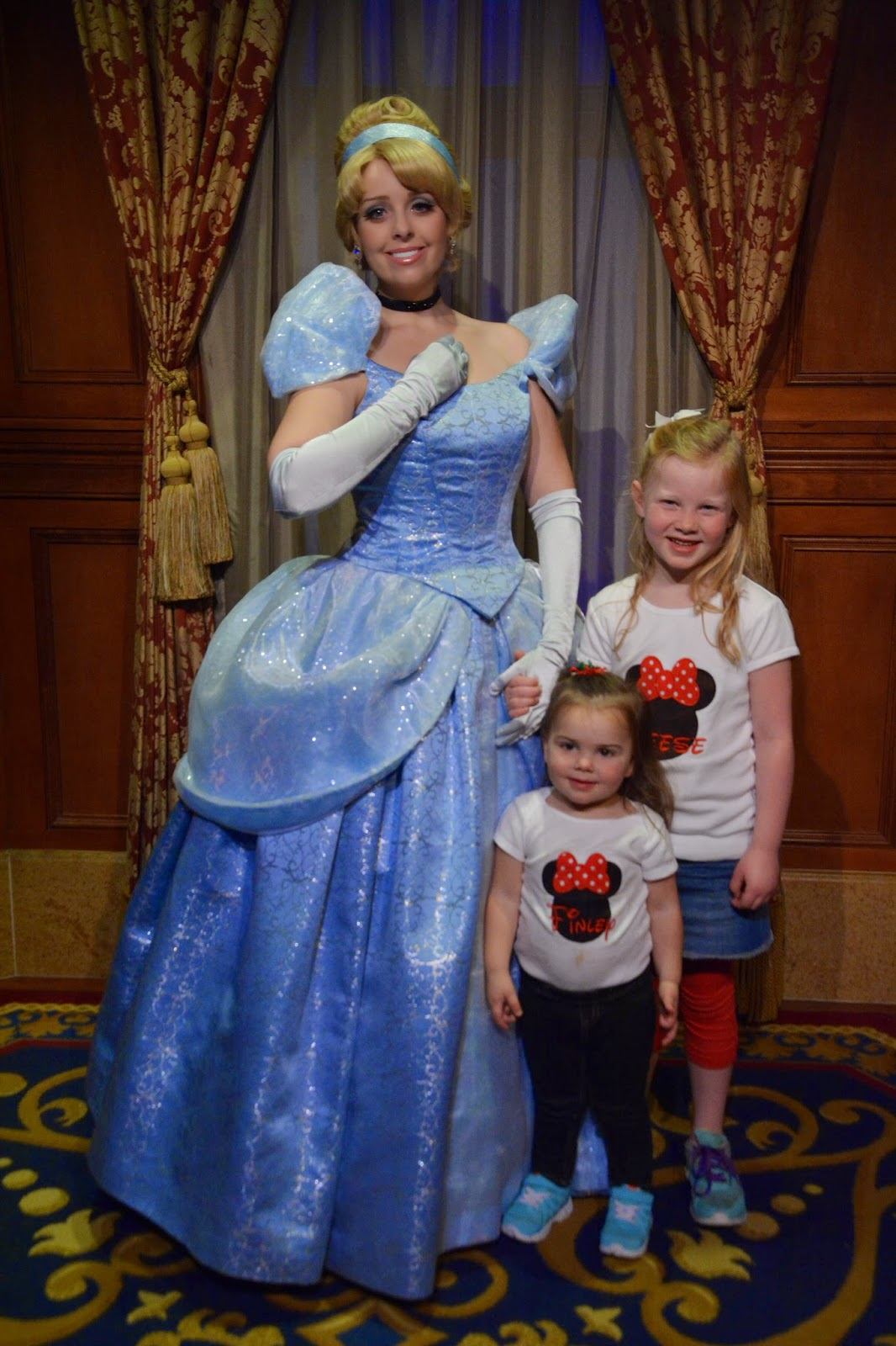 Baseballs and bows disney world day 6 magic kingdom take 2 and we stopped to meet with tiana before the parade she is always one of our very favorite princesses we havent met a tiana yet that isnt good with the m4hsunfo