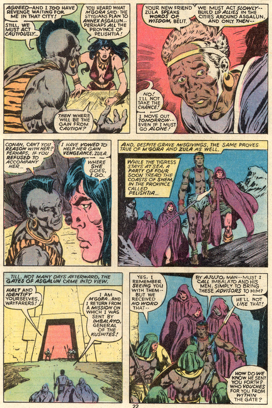 Conan the Barbarian (1970) Issue #91 #103 - English 13