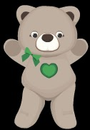 Stardoll Free Animated Childline Bear Items