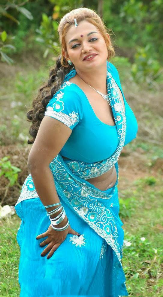 Desi Mallu Masala Aunty Bhanu Hot Stills | Hot Sexy South Indian ...
