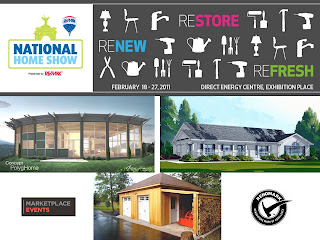Restore Refresh Renew National Home Show Toronto Canada 2011, collage