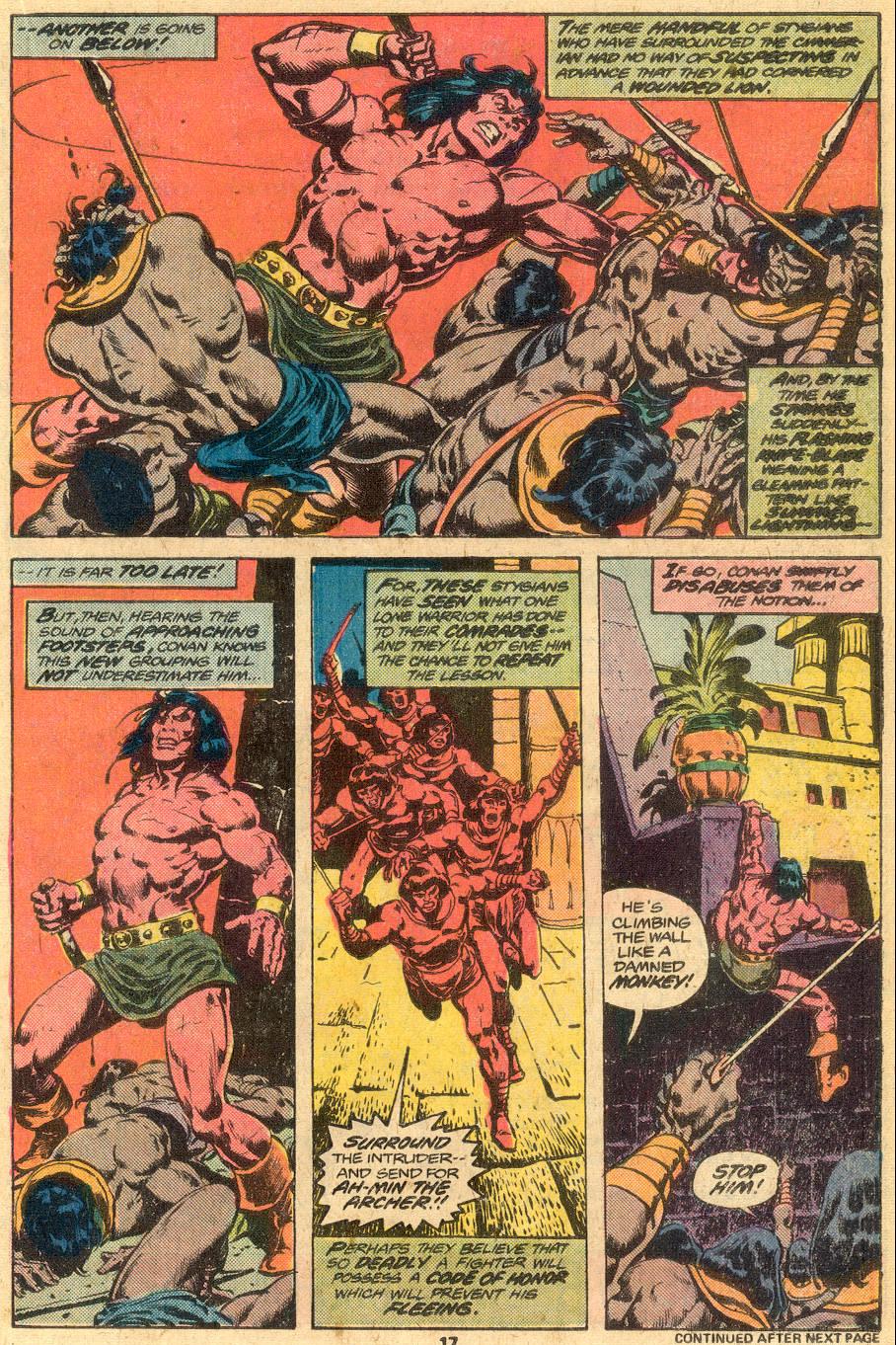 Conan the Barbarian (1970) Issue #76 #88 - English 12