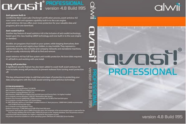 Avast! Pro Antivirus 9.0.2008.177 Final + Ativação 429