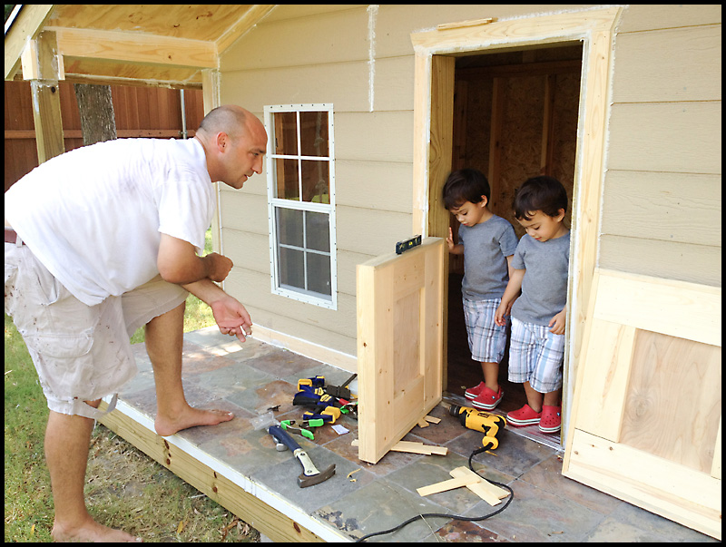 Merveilleux Diy Playhouse Door