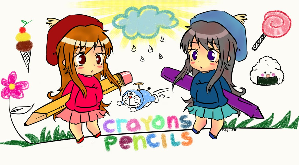 Crayons and Pencils