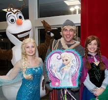 Elsa Anna and Kristoff andOlaf