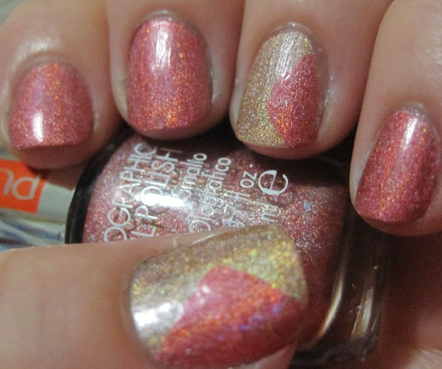 Lit From Within Pupa Holo Polish And Some Nail Art