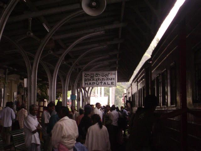 Haputale railway station
