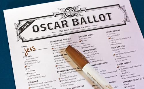 Printable Oscar ballot download