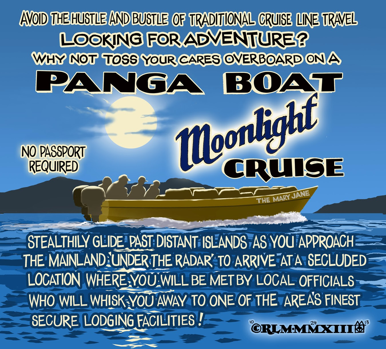 PANGA BOAT MOONLIGHT CRUISE