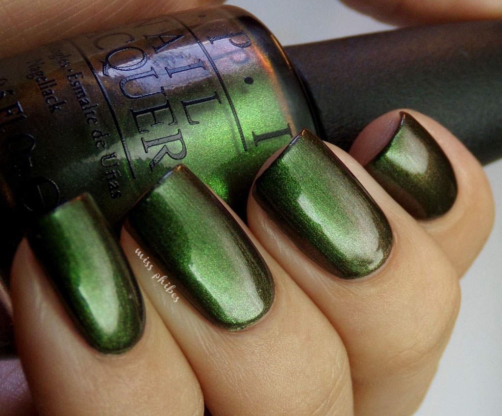 miss phibes.: OPI: Green on the Runway y My Private Jet
