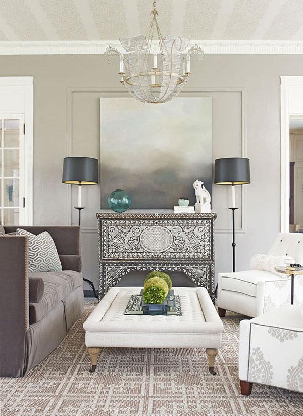 Small Living Room Design Ideas And Color Schemes: لون الغرفة وتأثيره على الحالة النفسية لأفراد المنزل