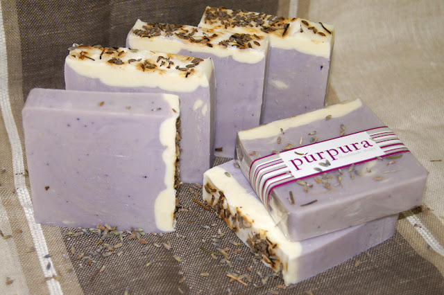 Lavender and Patchouli Soap by Purpura Soaps