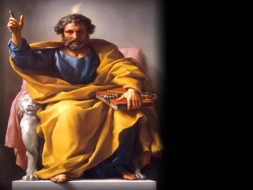 "peter the apostle Peter was martyred tradition tells us that when peter died as a martyr when he was given the choice of how he should die, he said, ""i'd like to be crucified up-side-down because i am unworthy to die as my lord died."