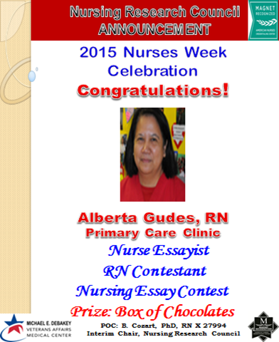 Nursing essay contests
