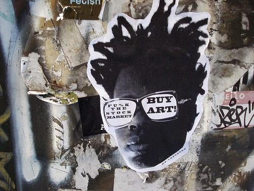 Fu%k the stock market - buy art