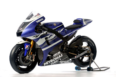 2011 Yamaha YZR-M1 Motorcycle Official MotoGP