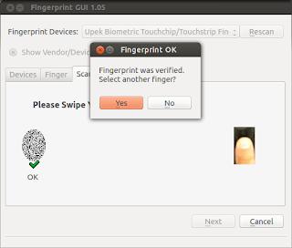Instalar lector de huellas dactilares en Ubuntu, Fingerprint GUI ubuntu, lector de huellas digitales configurar ubuntu