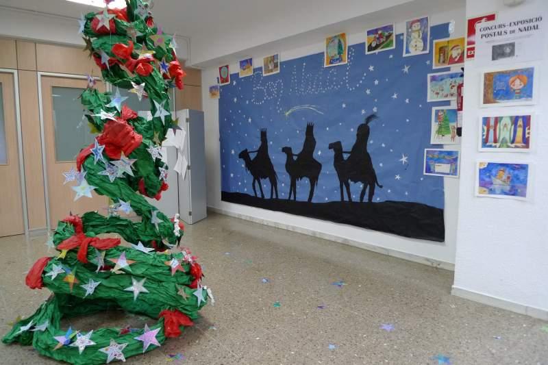 Young art decorado de navidad - Murales decorativos de navidad ...